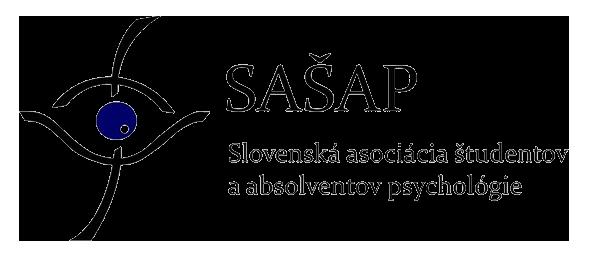Logo Slovenskej asociácie študentov a absolventov psychológie.