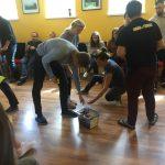 Účastníci projektu COACHING: Level One pri vzdelávacej aktivite.