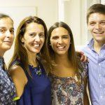 Fotka štyroch usmiatych účastníkov semináru Let's get cross!.