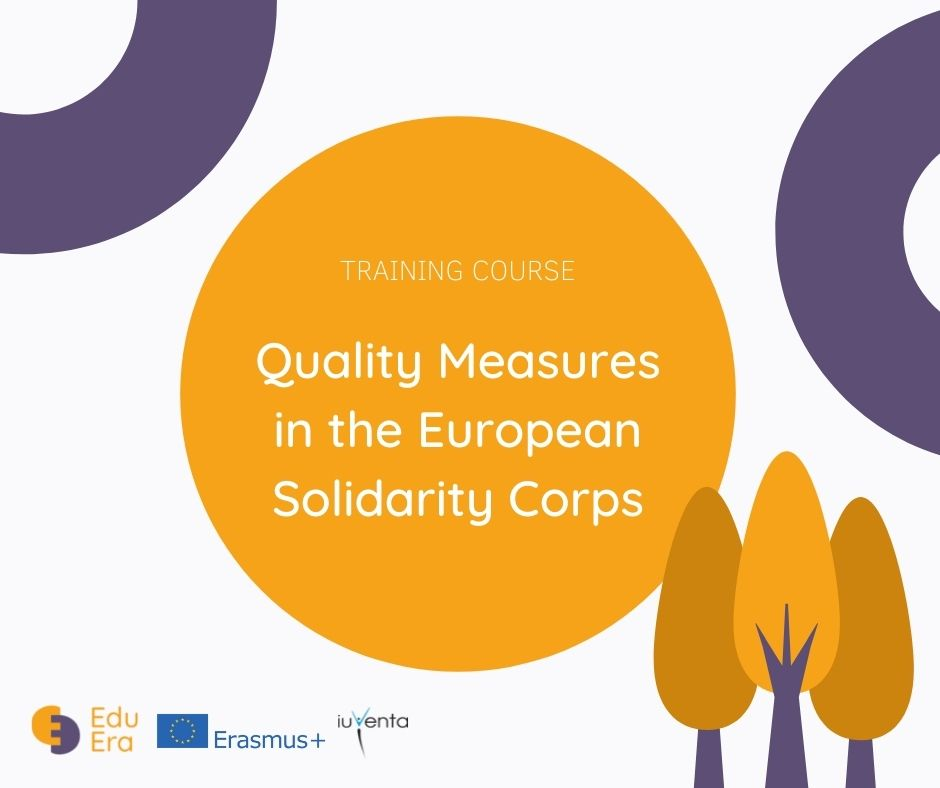 Pozvánka na projekt Quality Measures in the European Solidaririty Corps.