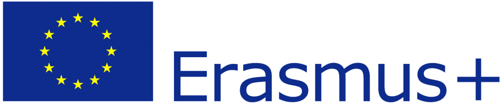 Logo Erasmus+.