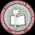 Logo Pedagogickej fakulty Univerzity Komenského.